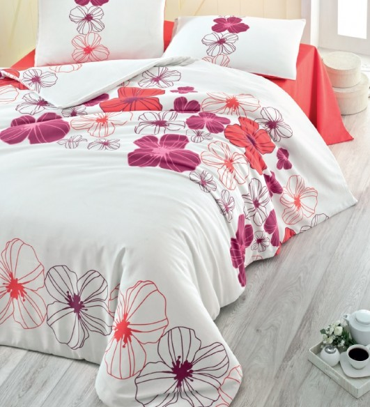 Milena Lenjerie de pat din Policotton